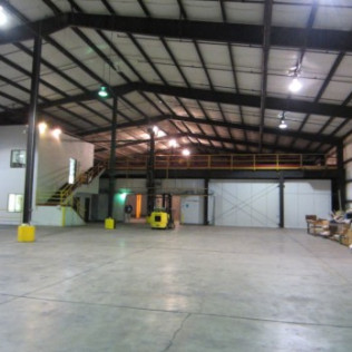 Columbia Industries Digital Storage Building Project