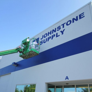 Johnstone Supply Paint Project